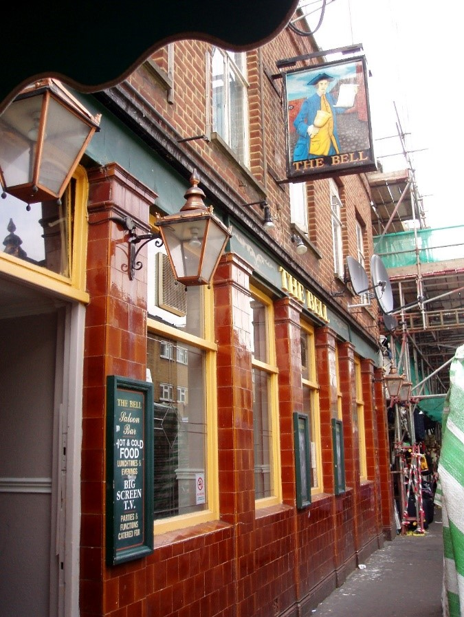 East Street. The Bell Pub, closed 2013..jpg