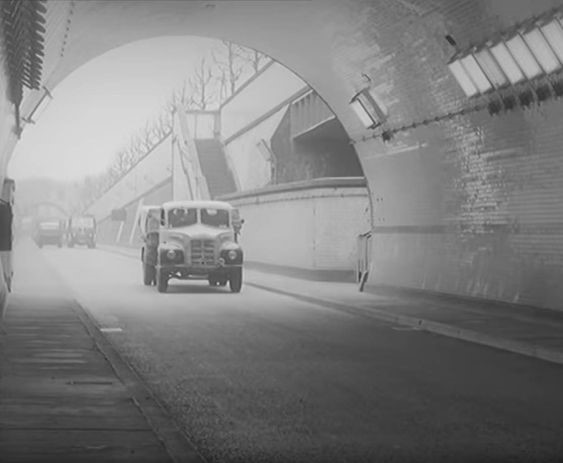 Rotherhithe Tunnel, Rotherhithe South Side in 1957 1.jpg