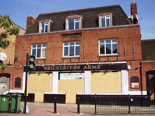 Southampton Way 2008. Pub Closed in year 2000, now demolished.jpg