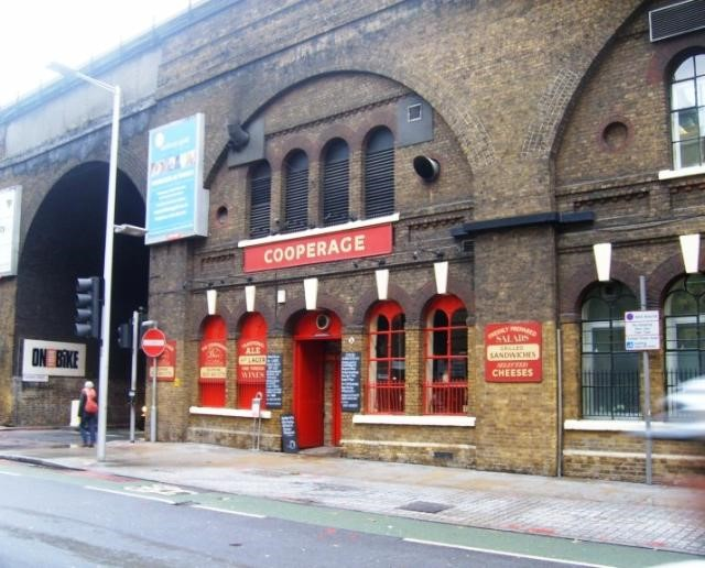 Tooley Street Cooperage Pub now been demolished and replaced by part of the new London Bridge Station..jpg