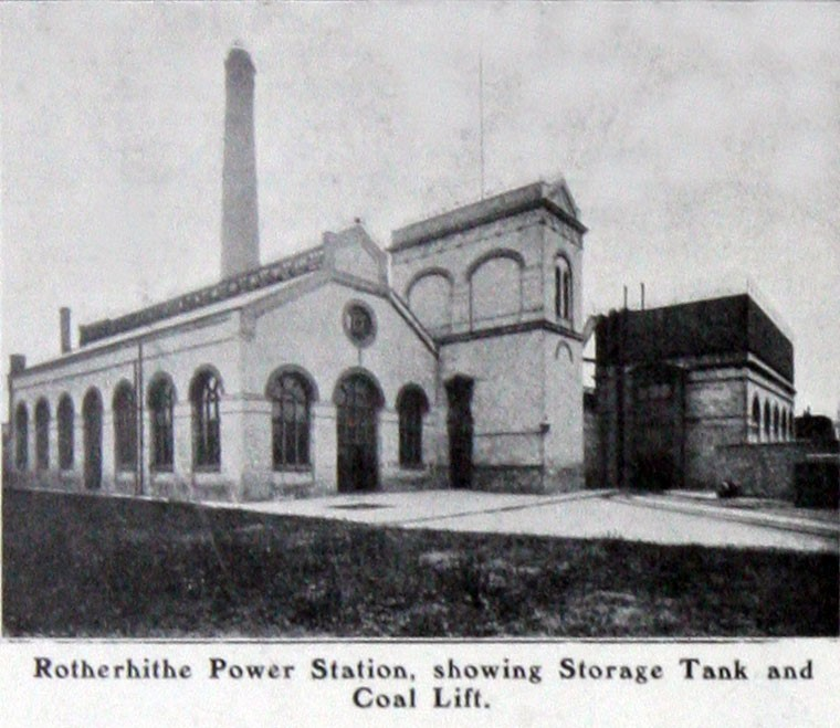 Renforth Street, Rotherhithe Power Station. 1906. 1.jpg