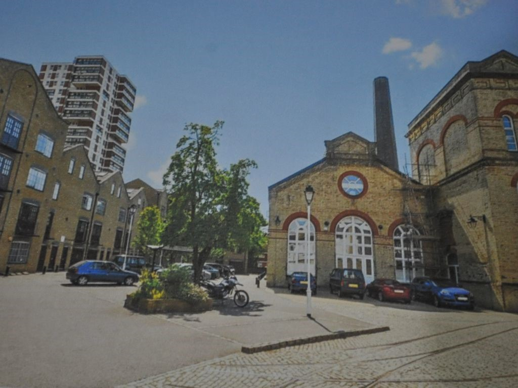 Renforth Street, Rotherhithe Power Station. 1906. I think this part is now called Pump House Road. 2017..jpg
