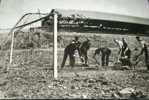 Millwall,The Den after a night of German bombing in London c1943.  X.jpg