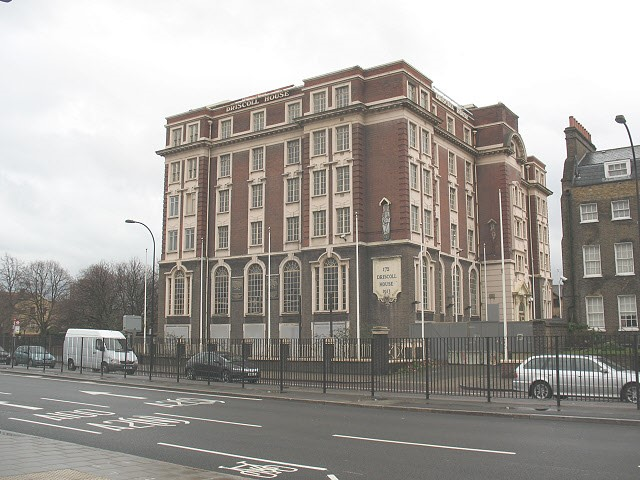 New Kent Road,Driscoll House 2017,is a Grade II listed building. It first opened as Ada Lewis House in 1913..jpg