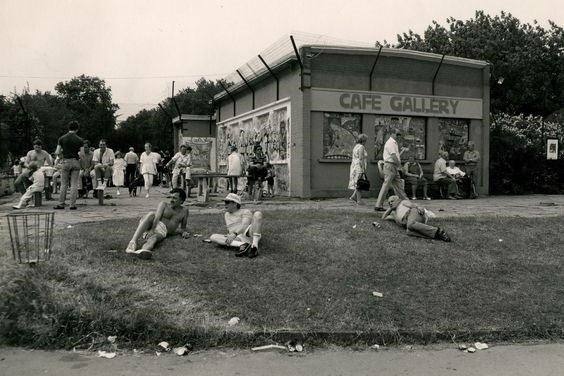 Southwark Park Bermondsey the Cafe and Open Air Lido..jpg