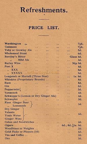 Elephant and Castle Theatre, price list c1904..jpg