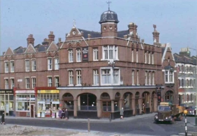 Southampton Way,The Rosemary Branch Pub,now demolished.jpg