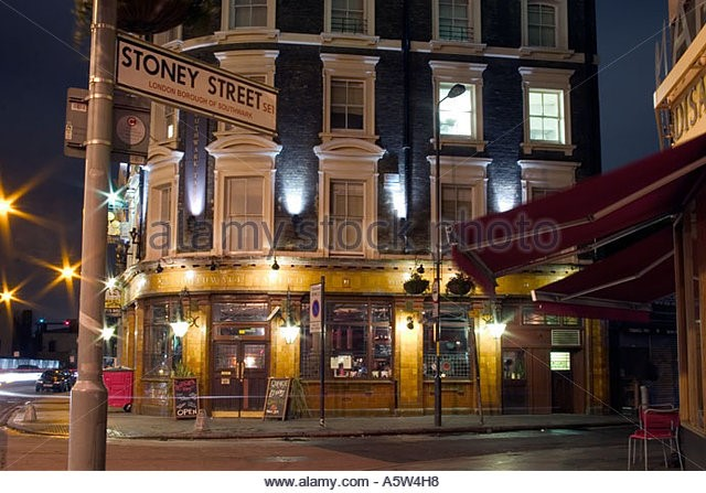 Stoney Street, Borough, Southwark Tavern public house..jpg