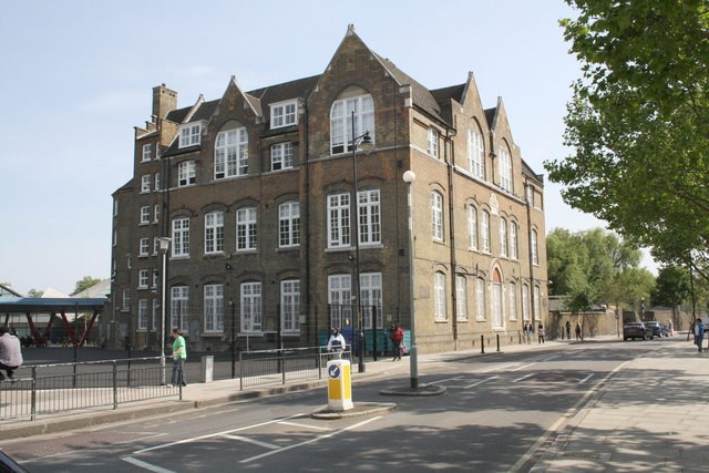 Harper Road It is now part of the adjacent Globe Academy but was formerly the Joseph Lancaster Primary School..jpg