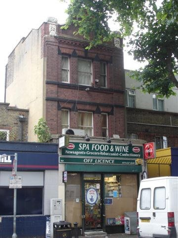 Spa Road,site of  The Rising Sun Pub. 2006..jpg