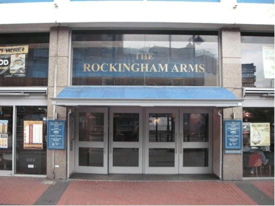 The Rockingham Arms Pub Wetherspoons. The new pub in Newington Causeway  2018..jpg