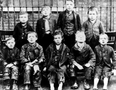 Snowfields,Boys from Snowfields School in Bermondsey 1894.jpg
