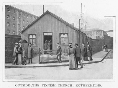 Albion Street,outside the Finnish Church in Rotherhithe, c.1901.jpg