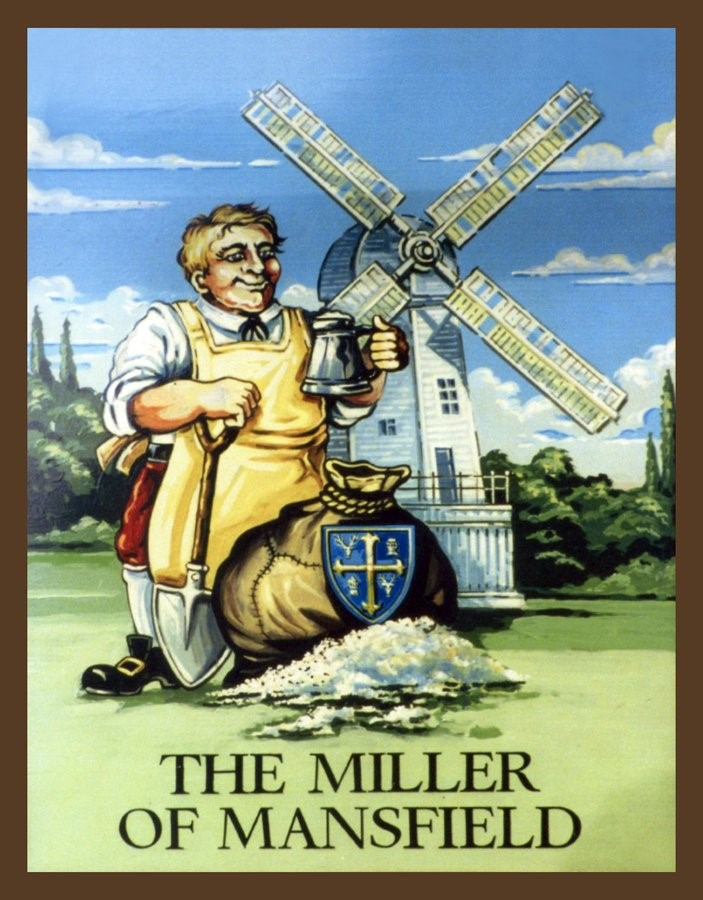 THE MILLER OF MANSFIELD,SNOWFIELDS PUB SIGN. X.jpg