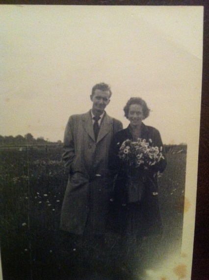 Sister Kath(Hamilton) & George Hazell,possible thier wedding day..jpeg