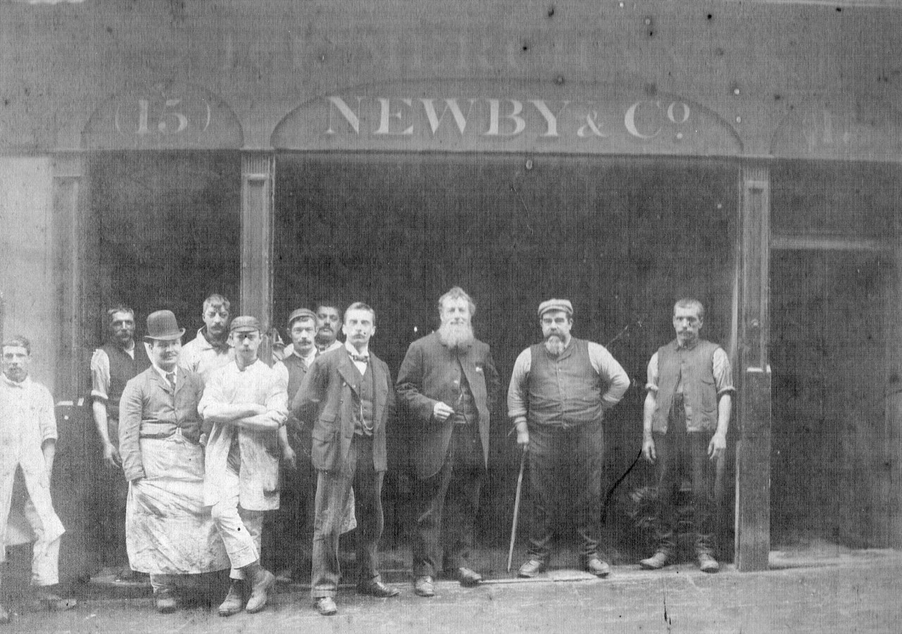 Grand Surrey Canal,Newby & Co Ice Store near Neate Street. X.png