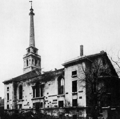Fair Street, St John's Horsleydown, after bomb damage, 1940.  X.png