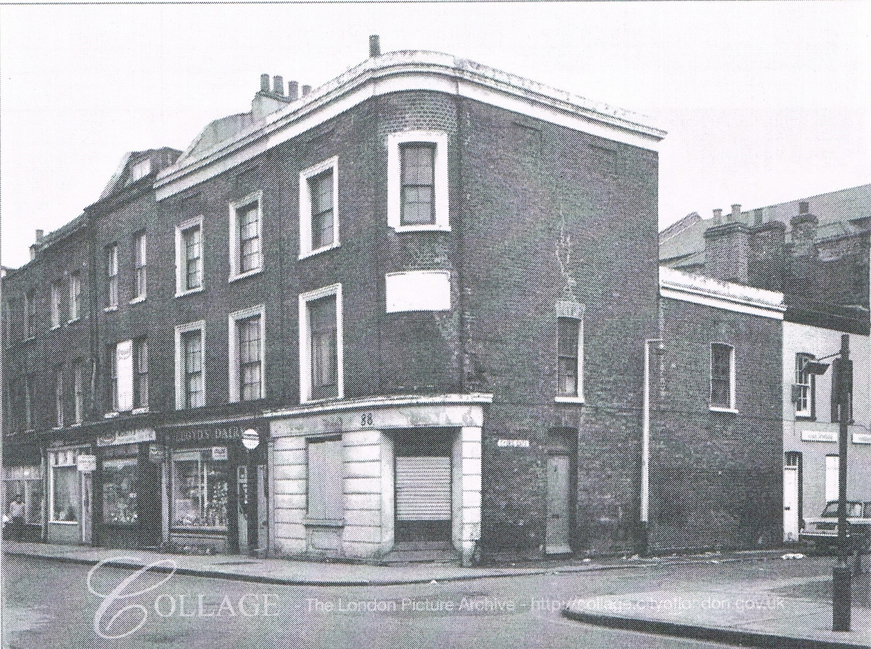 BERMONDSEY STREET,TYERS GATE RIGHT c1970. X.jpg