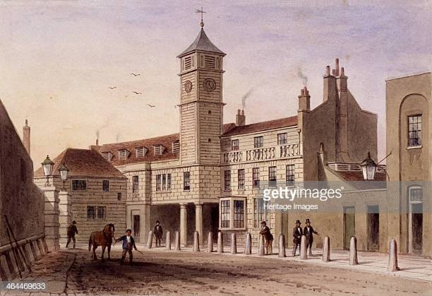 Tooley Street, Bridge House in Bridge Yard Bermondsey London 1846.  X.jpg
