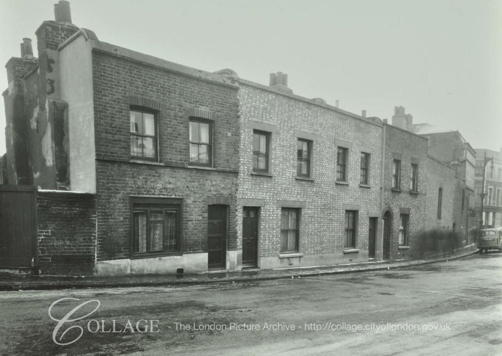 Cope Street, No.16-19 c1952,Lower Road far end.  X.jpg
