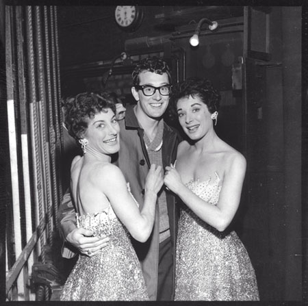 Elephant & Castle, Buddy Holly backstage at the Trocadero, March 1958.  X.png