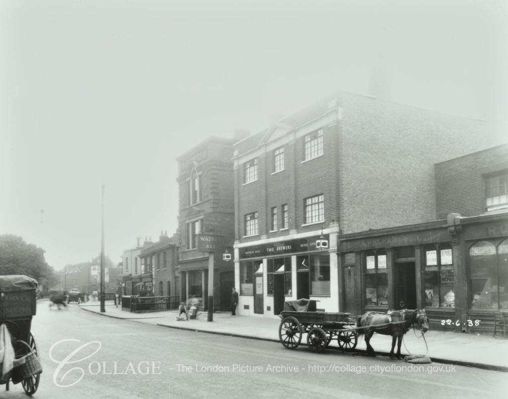 Two Brewers, 52-56, Southampton Way 1938.  X.png