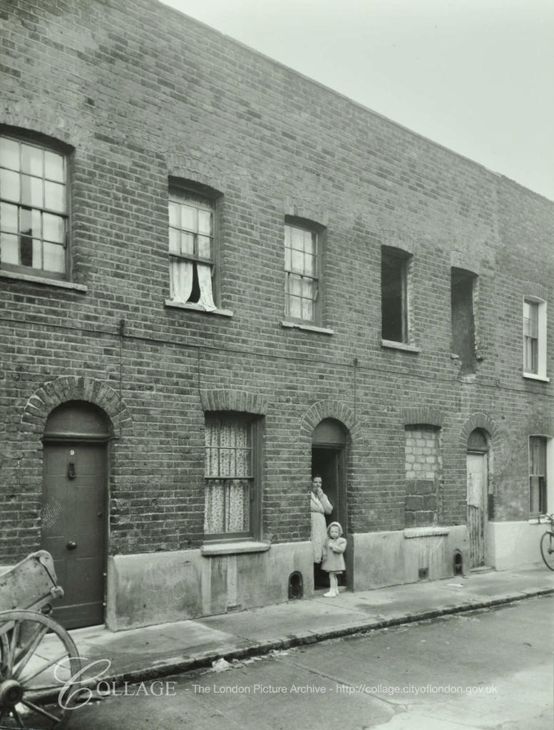 Riddell Street. Nos.7-9, c1955,off Southampton Way.  X.png