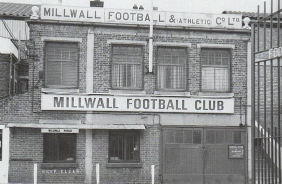 Millwall, The Old Den 1970. Entrance From New Cross   X.png