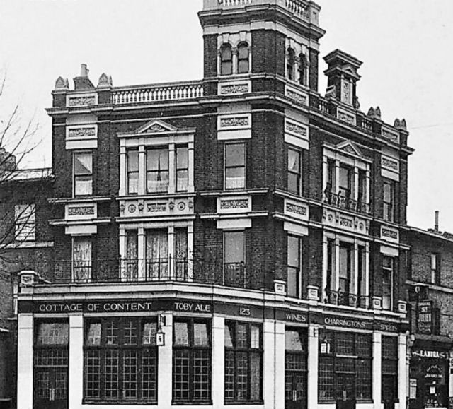 Rodney Road. c1937, The Cottage Of Content Pub.  X.png
