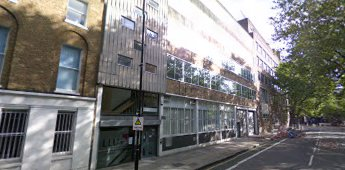 Southwark Bridge Road 2018. Pococks Brothers new building survives and forms the London campus of the University of West Scotland.  X.png