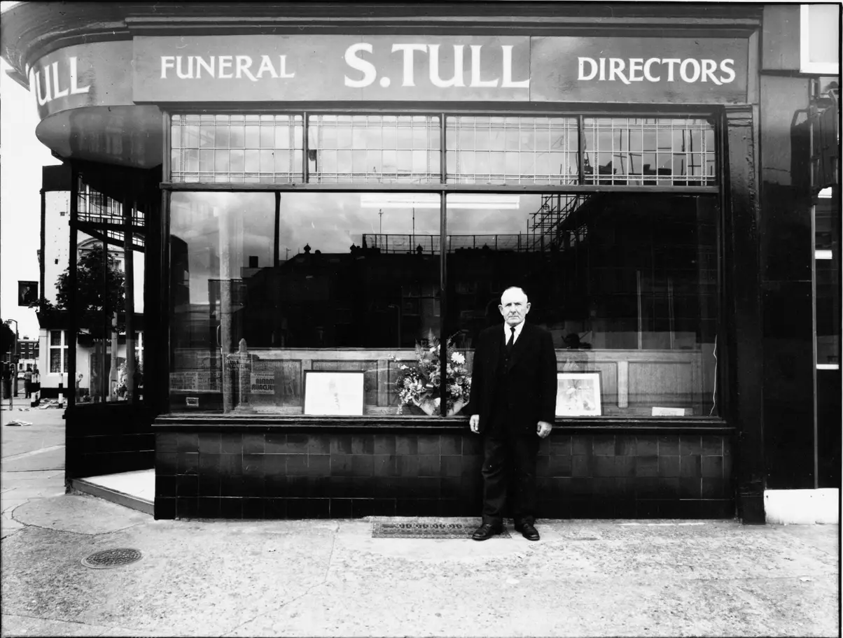 London Road No 16, 1975, S.Tull, Funeral Directors.  X.png