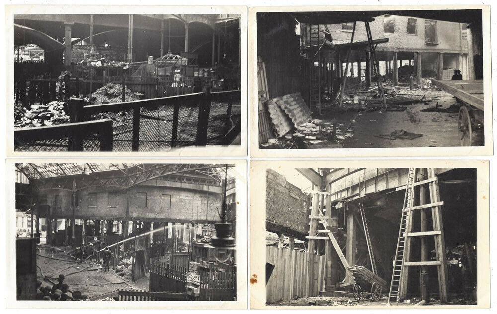 Borough Market, Southwark Aftermath of  Market Fire 1939, WW2. 4  X.png