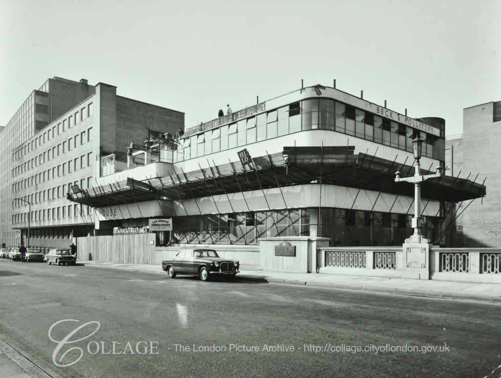 Southwark Bridge Road, Universal House, demolition c1964.  X.png