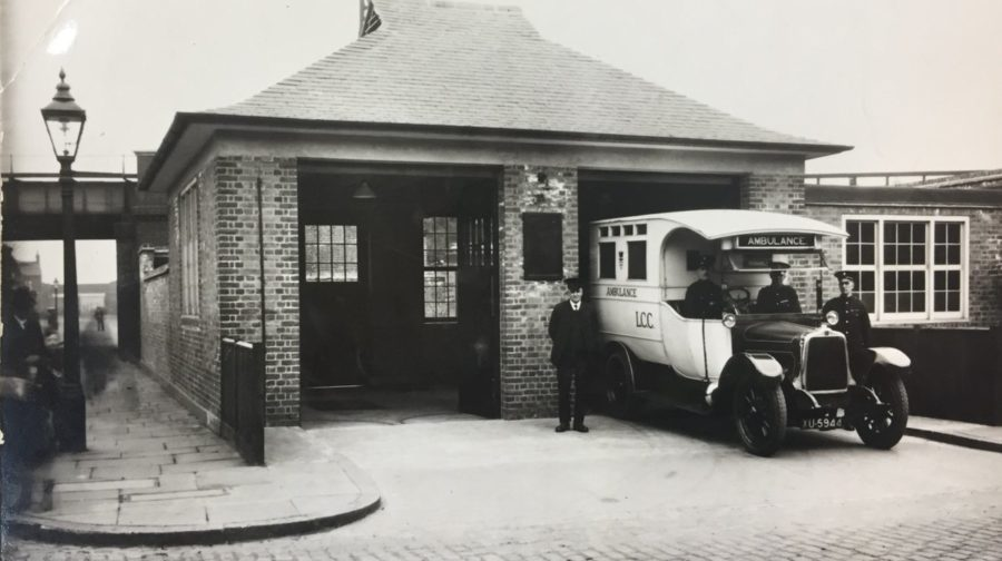 Ilderton Road, Old Kent Road Ambulance Station, in its heyday.   X.png