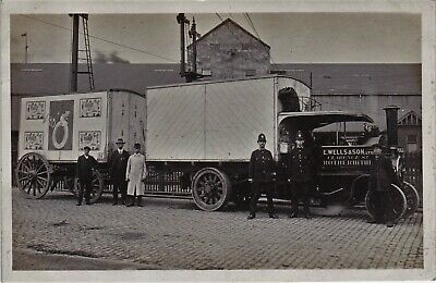 Rotherhithe steam lorry.  X.png