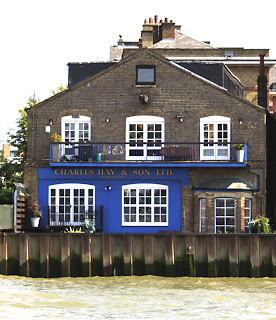 Rotherhithe Street.The riverside face of Charles Hay and Son.  X.png
