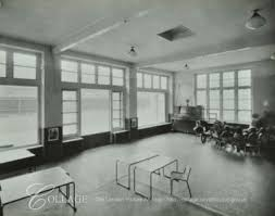Kintore Way Nursery School classroom,Grange Road c1936.  X.png