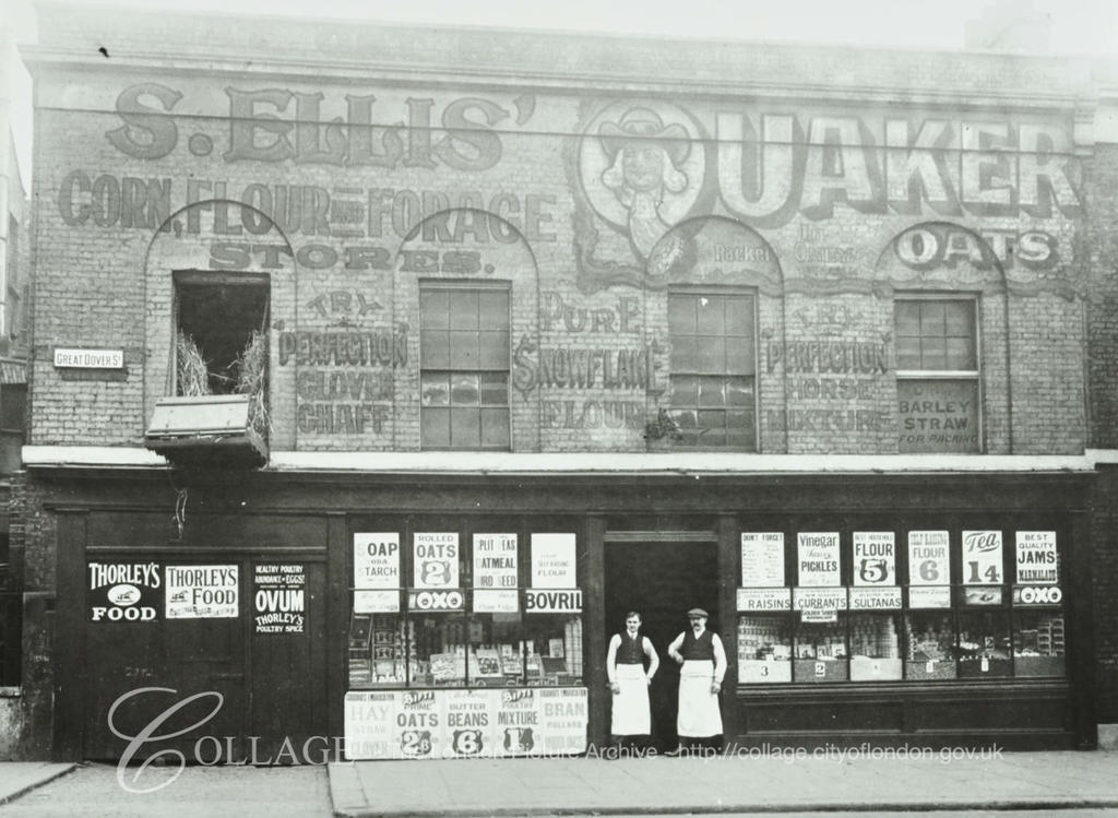 Great Dover Street 1914, No 202  Ellis' General Stores.  X.png