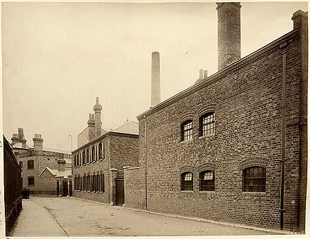 Rotherhithe Street, Rotherhithe Oil Mills, Rotherhithe,c1984,possible Union Oil & Cake Mills, Lower Ordnance Wharf.  X.png