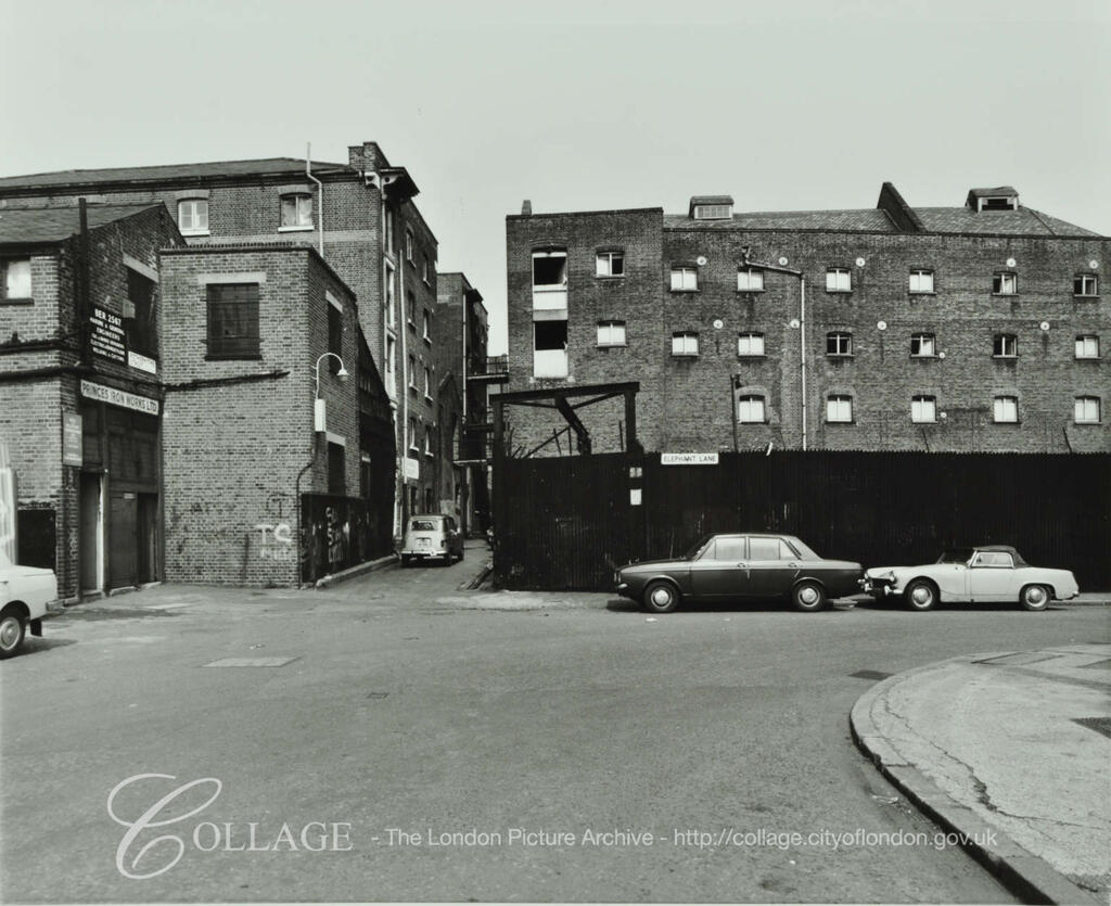 Elephant Lane  c1977.  X.png