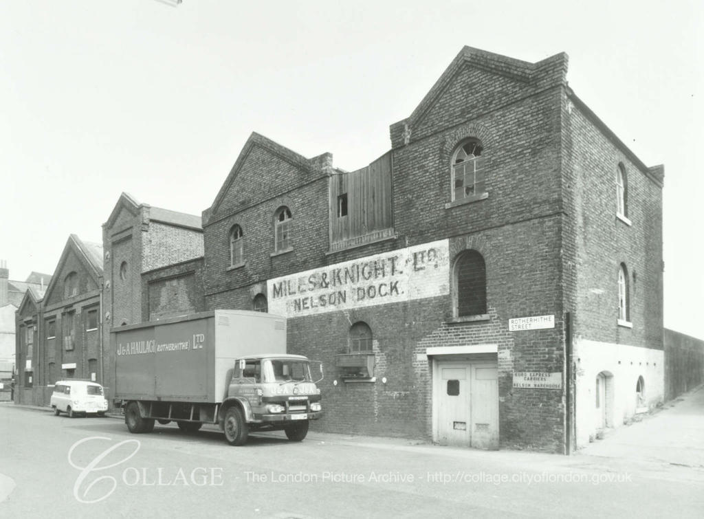 Rotherhithe Street, c1979. J & A Haulage (Rotherhithe)  was based in Lower  Road.  X.png
