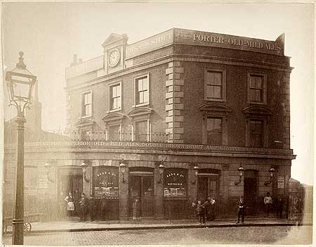 Feathers Public House,  13 Dockhead, Bermondsey, 1881.  X.png