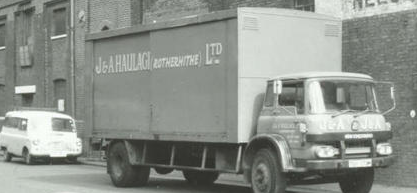 J & A Haulage (Rotherhithe) c1979,they where based in Lower  Road.  X.png