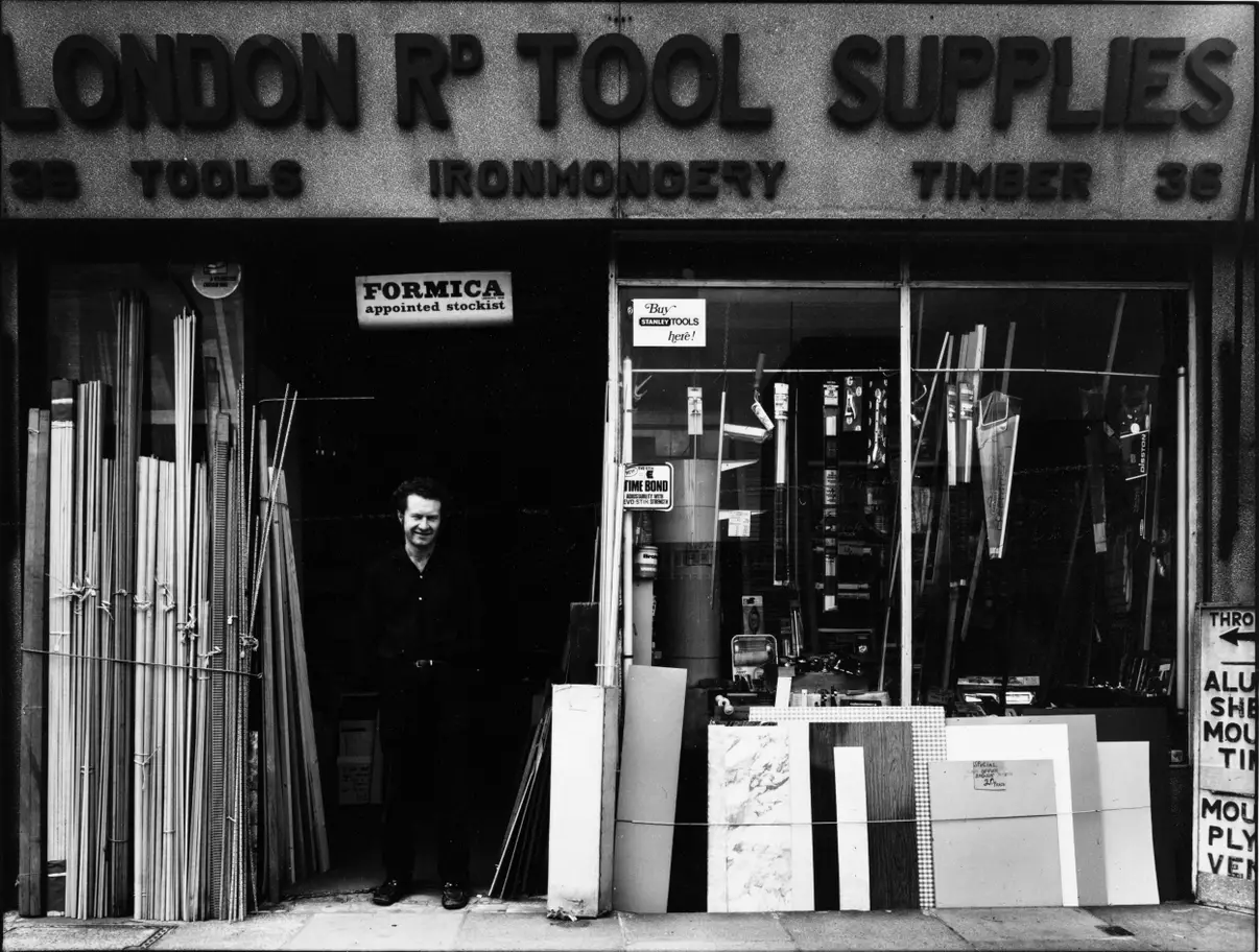 London Road, No 36,Tool Supplies. 1975. No On.png