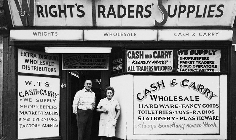 London Road,No 43, Wright's Traders' Supplies, 1975.  Not On.jpg