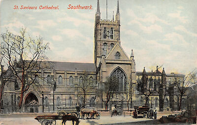 Borough High Street, the Cathedral is looking towards, where the Borough Market now is.   X.png