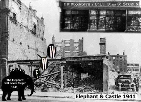 Elephant and Castle, Newington Butts 1941.  X.png