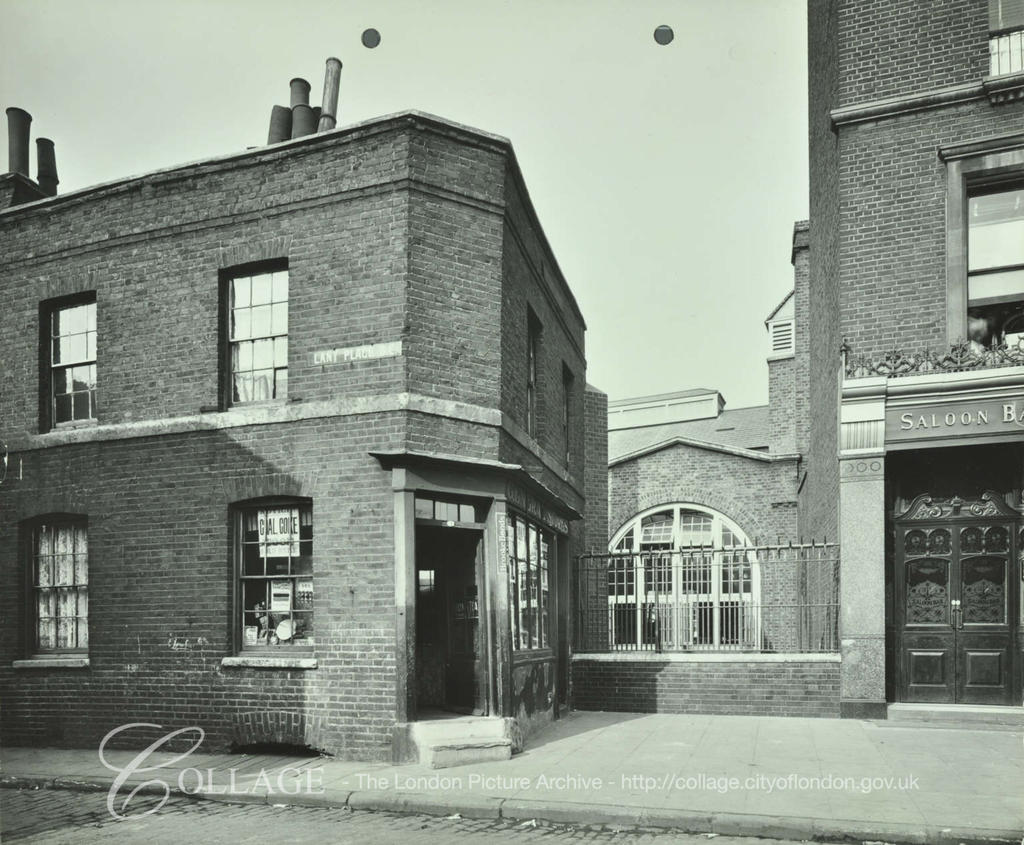 Lant Place 1904, now Sawyer Street.  X.png