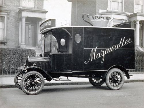 Mazawattee Tea, van who traded from their premises near the Millwall Football Ground in Bermondsey.  X.png