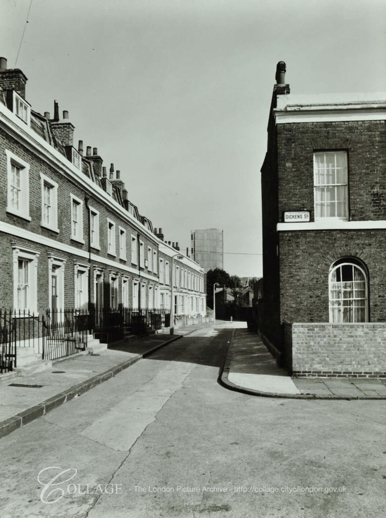 Ralph Street, Nos 23-33 from Dickens Square c1968.  X.png